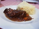 Slow Cooked Ox Cheeks