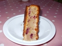 Gooseberry and Blackberry Cake