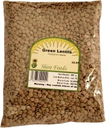 Picture of Green Lentils, Dried (375g)