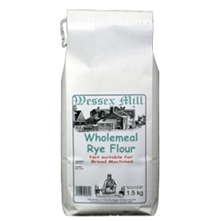 Picture of Wessex Mill Wholemeal Rye Flour (1.5kg)