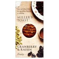 Picture of Cranberry & Raisin Millers Toast (100g)