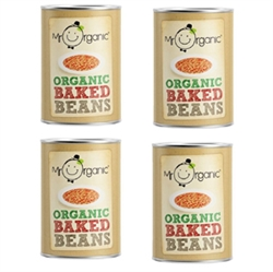 Picture of Mr Organic Baked Beans Multipack (4x 400g)