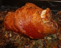 Picture of Roasted Ham Hock with Apples