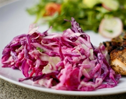 Picture of Roasted Lemon Fish fillet, & Beetroot Slaw
