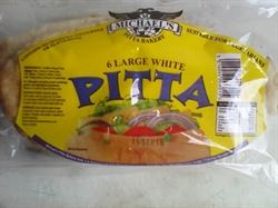 Picture of White Pitta Bread x 6