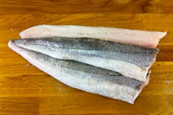 Picture of Cornish Hake Fillets (apx 350g - £22 / kg)