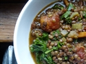 Picture of Lentils with Bacon & Kale