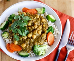 Picture of Lentil & Chickpea Curry