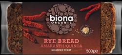 Picture of Amaranth & Quinoa Rye Bread 500g