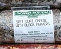 Picture of Wobbly Bottom Black Pepper Goat's Cheese Log (150g)
