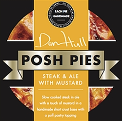 Picture of Steak & Ale with Mustard Pie (275g)
