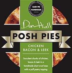 Picture of Chicken, Bacon & Leek Posh Pie (275g)