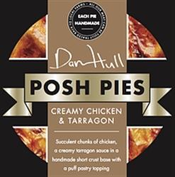 Picture of Creamy Chicken & Tarragon Posh Pie (275g)