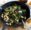 Picture of Spring Greens with Butter Beans