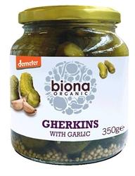 Picture of Demeter Gherkins & Garlic (approx 350g)