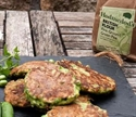 Picture of Courgette, Pea & Mint Fritters