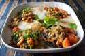 Picture of Quinoa with Garlic Mushrooms & Eggs