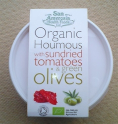 Picture of Houmous w/ green olives & tomatoes (170g)