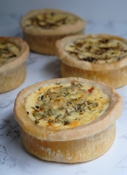 Picture of Mushroom & Onion Quiche