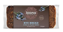 Picture of Chia & Flax Seed Rye Bread 500g