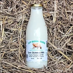 Picture of Semi-Skimmed Jersey Milk (750ml - Glass Bottle)