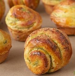 Picture of Tomato & Pesto Brioche Muffin