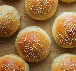 Picture of Sesame Brioche Burger Buns x 4
