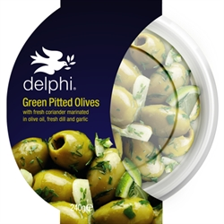 Picture of Green Pitted Olives (240g)