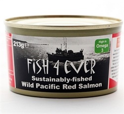 Picture of Wild Alaskan Red Salmon (213g)