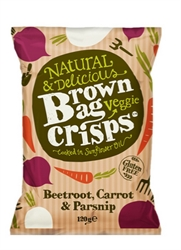 Picture of Beetroot, Carrot and Parsnip Veggie Crisps (120g)