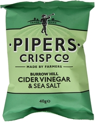 Picture of Burrow Hill Cider Vinegar & Sea Salt Crisps (150g)