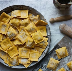 Picture of Beetroot & Goats Cheese Ravioli
