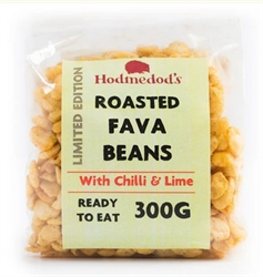 Picture of Roasted Fava Beans with Lime and Chilli (300g)