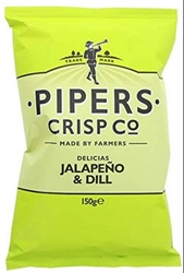 Picture of Delicias Jalapeno & Dill Crisps (150g)