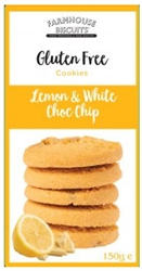 Picture of Lemon  & White Chocolate Chip Cookies (150g)