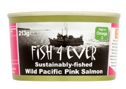 Picture of Wild Pacific Pink Salmon (160g)