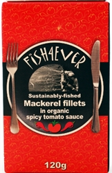 Picture of Mackerel Fillets in Spicy Tomato Sauce (120g)