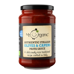 Picture of Olives & Capers Pasta Sauce (350g)