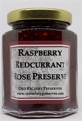 Picture of Raspberry, Redcurrant & Rose Preserve (220g)