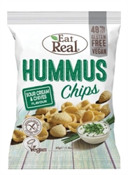 Picture of Sour Cream & Chives Hummus Chips (135g)