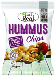 Picture of Tomato & Basil Hummus Chips (135g)