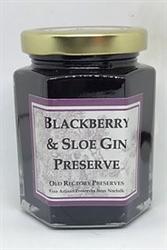 Picture of Blackberry & Sloe Gin Preserve (220g)