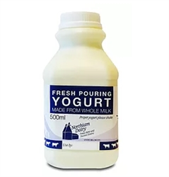 Picture of Yogurt Pouring