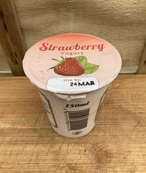 Picture of Live Creamy Strawberry Yogurt
