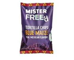 Picture of Tortilla Chips with Blue Maize